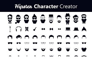 Hipster Character Creator