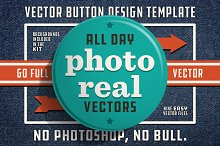 Vector Button Design Template