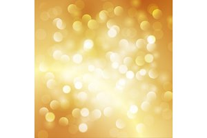 Christmas abstract gold background
