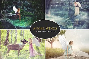 Angel Wings – photo overlays