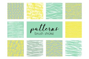 Brush stroke patterns