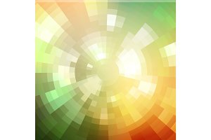 Abstract background shiny mosaic pattern Disco style.  For design party flyer, leaflet and nightclub poster