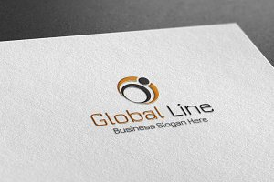 Global Line Style Logo