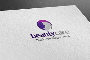 Beauty Care Style Logo