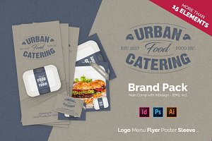 Brand Pack - Urban Food Catering