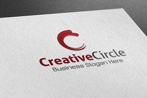 Creative Circle Style Logo
