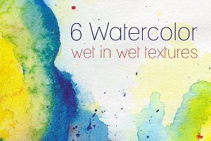 High Res Watercolor Textures