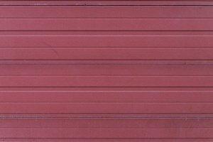 Red Garage door - Carport
