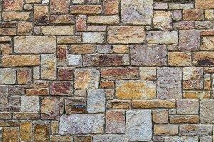 Orange rough bricks - Wall Texture