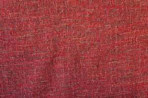 Rough red cloth
