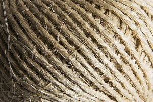 Straw rope - Close-up
