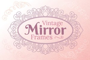 Vintage Mirror Frames