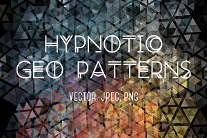 Hypnotic Geo Patterns