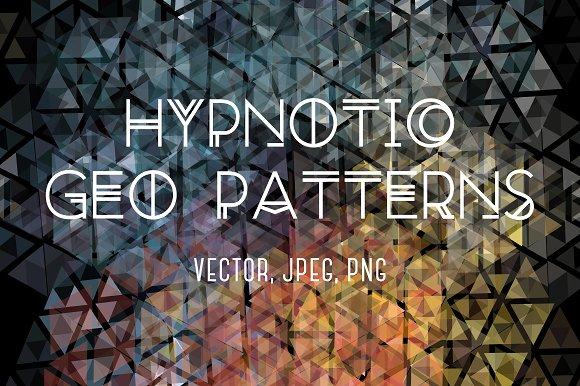 Hypnotic Geo Patterns