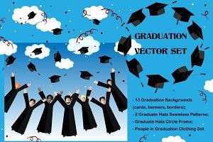 Graduation Ceremony Vector