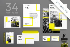 Branding Pack | Braids Hair Salon