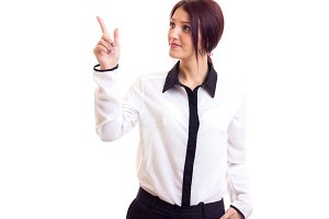 Young woman businesswoman