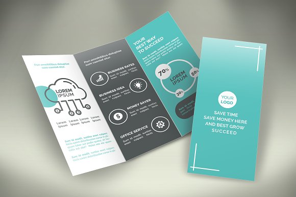 Business Tri-Fold Brochure -Graphicriver中文最全的素材分享平台