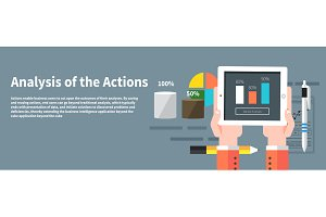 Analysis actions.