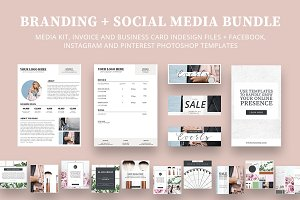 Branding + Social Media Bundle