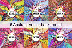 6 Abstract vector background