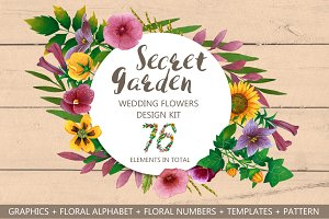 Wedding Flowers - Secret Garden