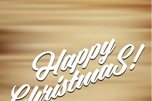 Merry christmas 2016 Happy New Year Beautiful text design Background Holiday Typography Lettering Hhandwriting illustration