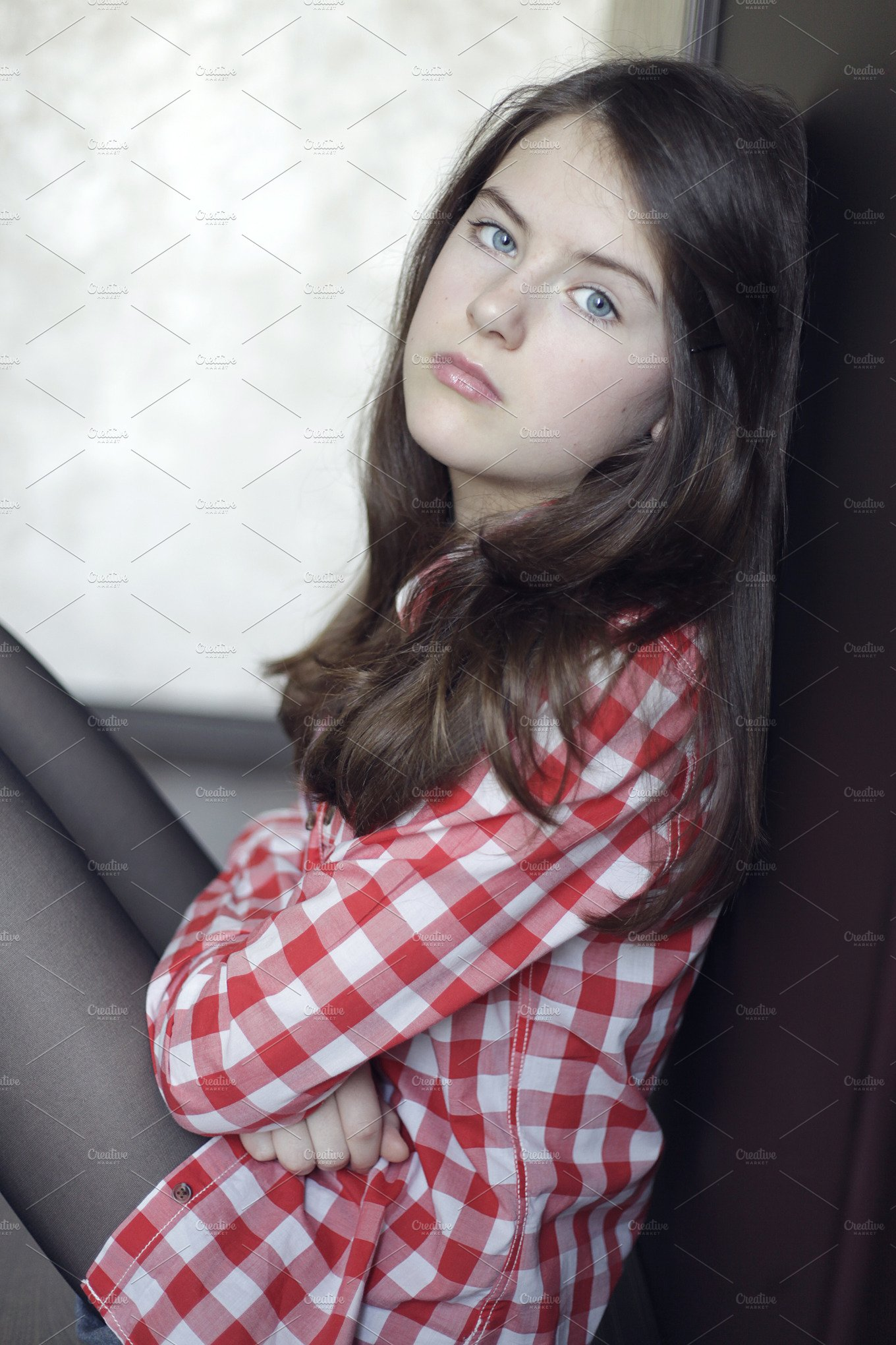 Teenager girl   High-Quality People Images ~ Creative Market