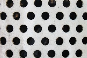 Metal Holes Surface