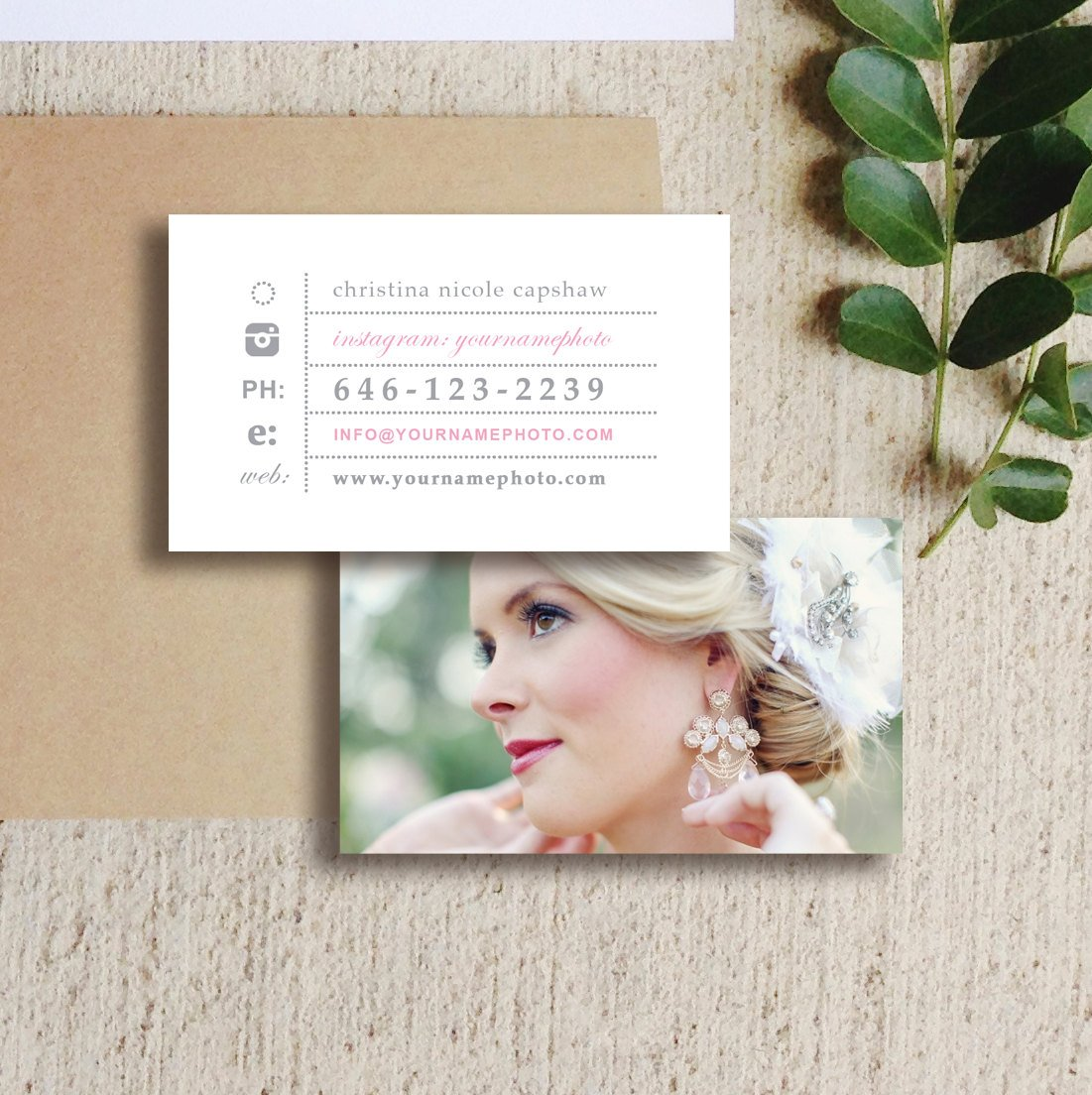 Wedding Photographer Business Cards ~ Business Card Templates ...