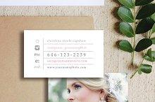 Wedding Photographer Business Cards