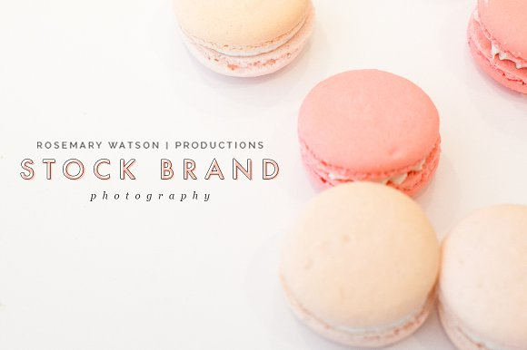 Macaron Stock Photo Bundle