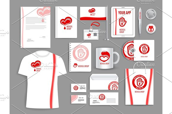 Medical Vector Templates For Blood Donation