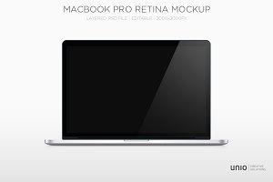 Macbook Pro Retina Mockup