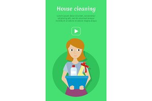 House Cleaning Banner