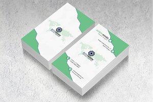 Verical Business Card