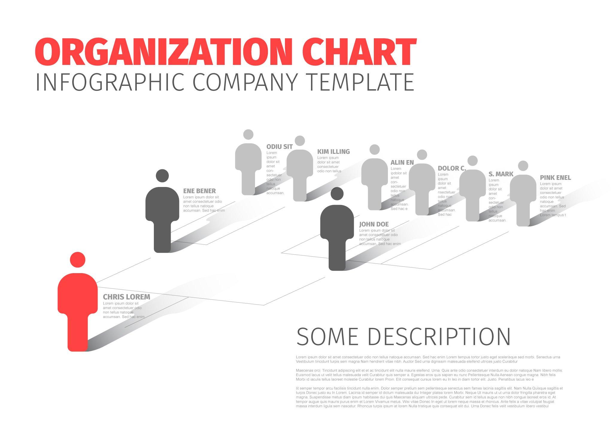 Company hierarchy schema presentation templates creative market ccuart Images