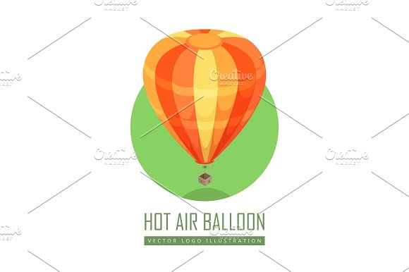 Balloon Vector Icon In Isometric Projection