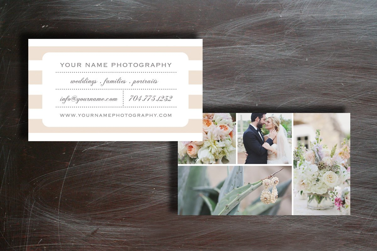 Wedding Photography Business Card Business Card Templates