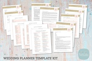 NG038 Wedding Planner Forms