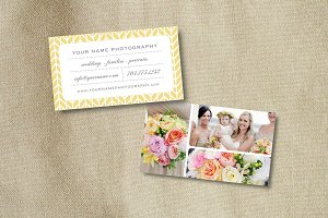 Photo Template -Business Card