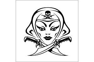 Amazon, girl warrior, pirate