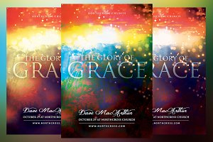 The Glory of Grace Church Flyer