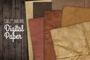 Dark Texture Digital Backgrounds Set