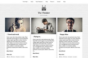 Thinker - Blogging WordPress Theme