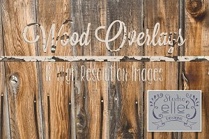 Wood Overlays Vol. #1
