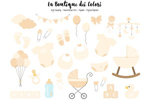 Ivory New Baby Clipart