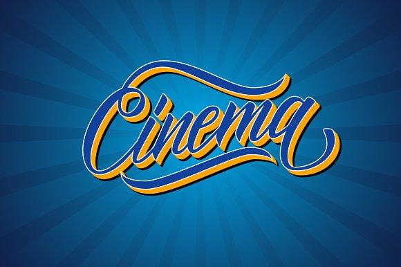 Handwritten Word Cinema