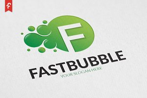 Fast Bubble Logo