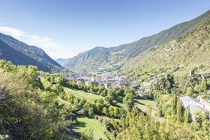 city of Andorra La Vella.